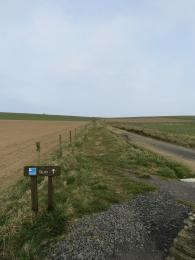 Marwick Head entrance to nature trail from the Cumlaquoy car park