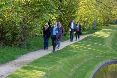 Image showing an example of the cedex path through Jupiter Artland