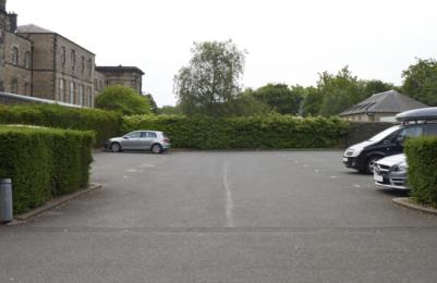 Modern One - main car park at rear of building