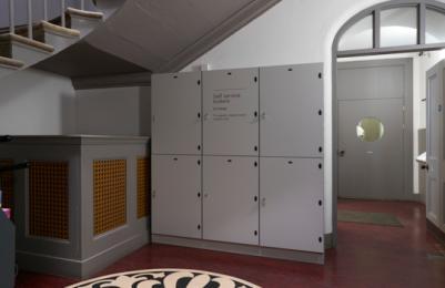 Modern Two - Level 0 - Lockers
