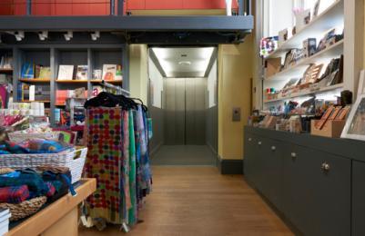 Modern Two - Level 1 - Modern Two Shop  - Lift entrance