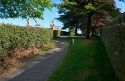 Modern Two - Sculpture Park - surfaced pathways (2)
