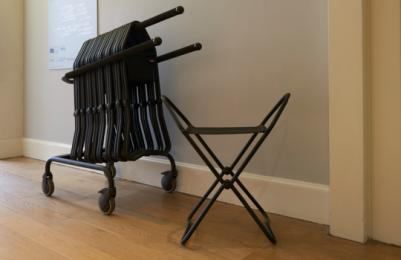 Modern Two - portable stool rack - available on all floors