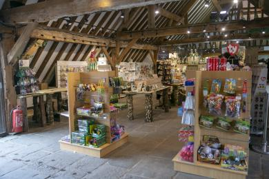 Moors Valley gift shop