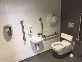 North West Unisex Accessible Toilet