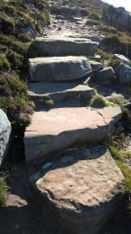 Old Man of Hoy path stone steps