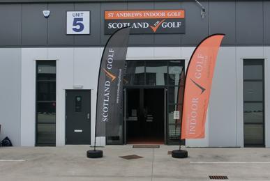 St Andrews Indoor Golf Centre Entrance