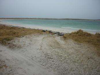 Easy beach access via Hougharry township