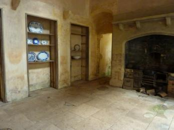 View of the Kitchen from the Tea Room Corridor