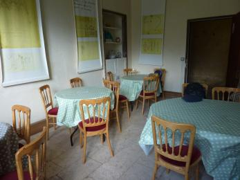 Tea room tables and chairs