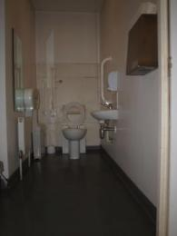 Accessible toilet on second floor
