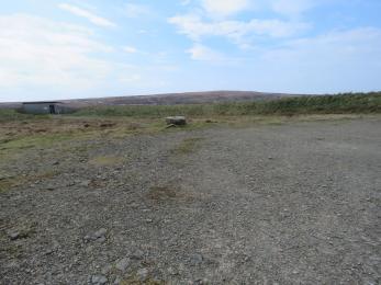 Parking area at Birsay Moors Hide