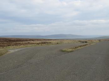 Parking at Birsay Moors Viewpoint
