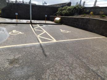 Parking bays
