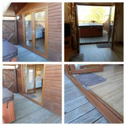 Tawny Lodge Second Set of Patio Doors