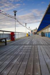Bournemouth Pier is flat and accessible by wheelchairs.  Key West bar has an accessible toilet on the East side of the Pier