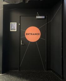 Entrance to Planetarium