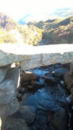 Post Road stone slab stream crossing