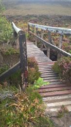 Post Road wooden footbridge