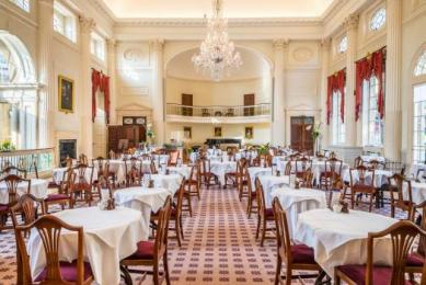 Inside the Pump Room Restaurant