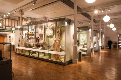 A photograph of the Making History gallery on the ground floor showcasing our wide and clear gallery spaces.