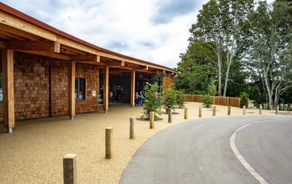 Visitor Centre main entrance