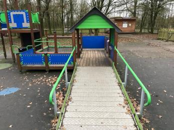 Accessible play equipment