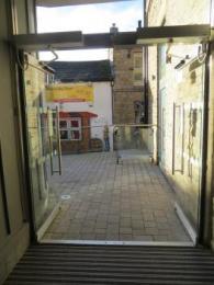 Entrance doors from inside (open)