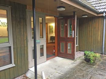 Self Catering Reception Office Entrance