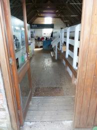 Entrance to Reception Hide