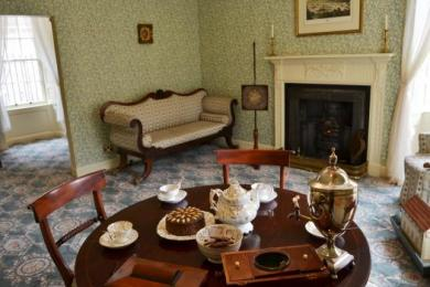 Inside Robert Owen's House