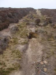 Rough surface of Moorland Trail