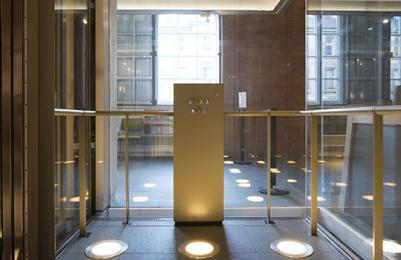 Scottish National Portrait Gallery - lift interior