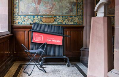 Scottish National Portrait Gallery -portable stools