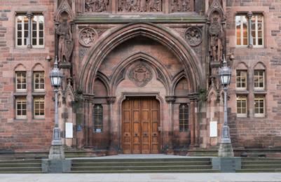 Scottish National Portrait Gallery - main entrance