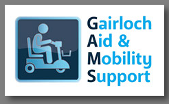 Gairloch Aid & Mobility Support where you can borrow equipment