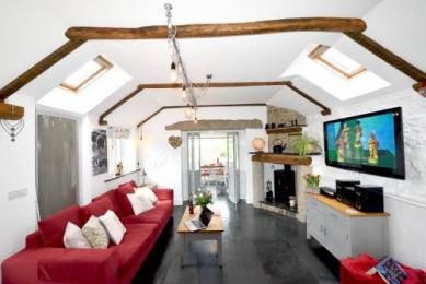 5 star self catering Cornwall Meadowview cottage