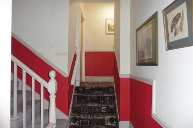 Stairs to Jack and Jill Bedrooms
