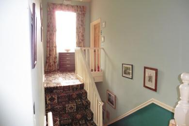 Stairs to Rose and Suzie Bedrooms