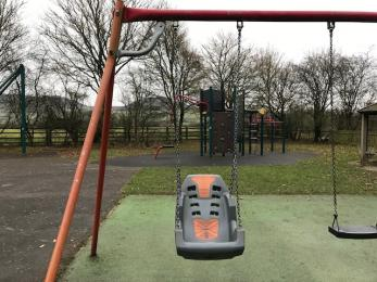 Accessible swing