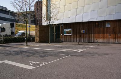 Disabled Parking at The Lightbox