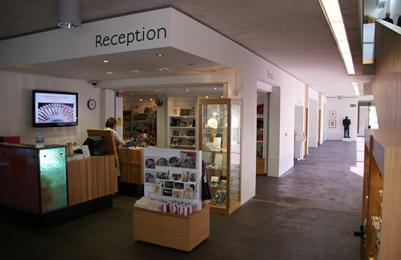The Shop and Reception area at The Lightbox