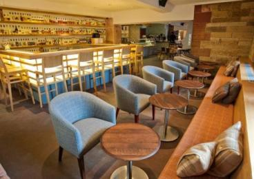 The Amber Restaurant Whisky Bar seating area