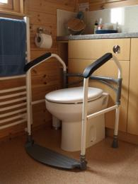portable toilet frame and other equipment available