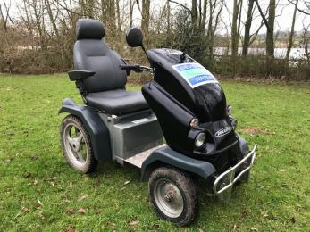 Tramper mobility scooter - available to hire from the visitor centre.