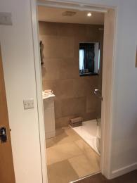 Door int en-suite from the bedroom