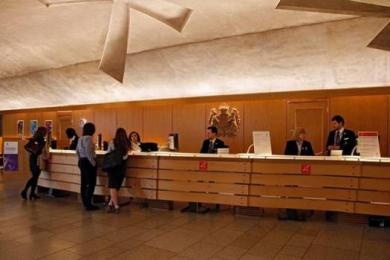 Visitor Information Desk, Main Hall