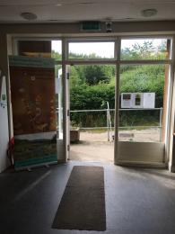 Visitor Centre Doorway