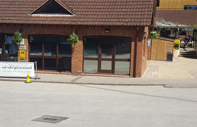 Cofton Holidays Wheelchair ramp to reception building