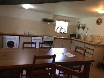 The kitchen at Witton View Cottage